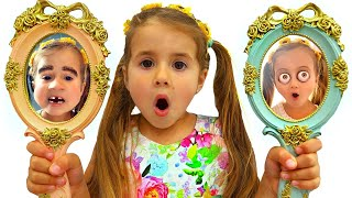 Ruby & Bonnie magical mirrors and funny faces