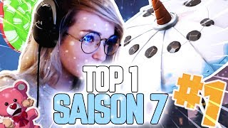 PREMIER TOP 1 DE LA NOUVELLE SAISON 7 SUR FORTNITE BATTLE ROYALE ft. Ratila67