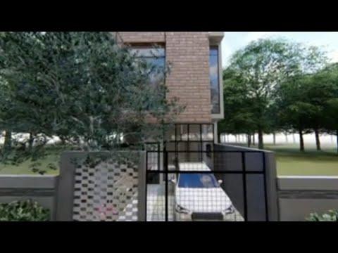 desain rumah minimalis 2 lantai 5 x 12 - youtube