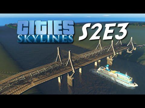 Cities: Skylines — S2E3 — Zestien Banen