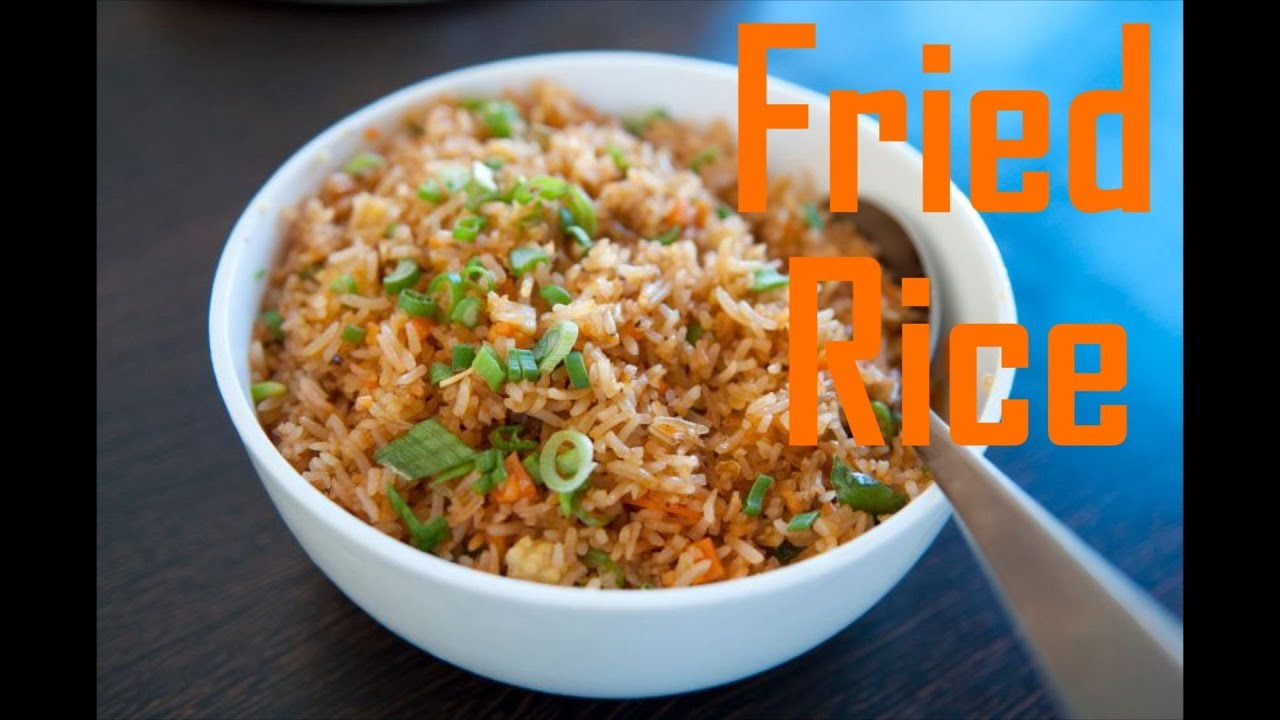 Chinese Style Fried Brown Rice - Easy Fried Rice --The Frugal Chef ...