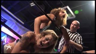 heidi lovelace kimber lee vs the hooligans match of the week aaw pro wrestling