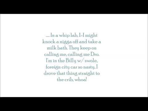 Nasty lyrics x Bandit Gang Marco ft. Dro