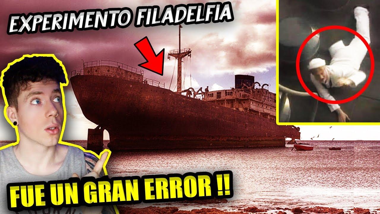 El EXPERIMENTO FILADELFIA - Intentaron ser INVISIBLES y se TELETRANSPORTARON por ERROR