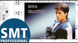 Как играть на баяне Белые розы (Ласковый май) | How to play on accordion | SMT Pro