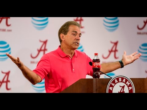 Watch Nick Saban talk about his QB, Kent State shooting & more