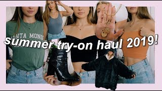 SUMMER HAUL 2019 (try on) ft. everything I got in LA