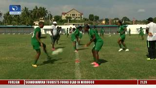 Cyprus Women's Cup: Super Falcons To Face Austria, & Slovakia |Sports Tonight| thumbnail