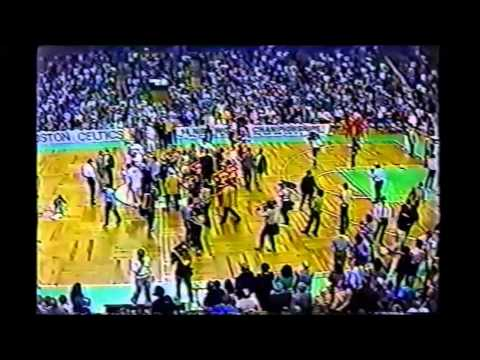 1983 Playoffs Atlanta@Boston Game 3 HIGHLIGHTS