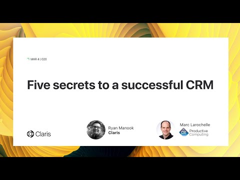 Five Secrets To A Successful CRM