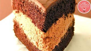 EGGLESS CHOCOLATE CAKE RECIPE | How to make Eggless Cake