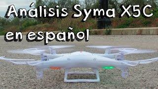 MEJOR DRONE CALIDAD PRECIO: Analisis quadcopter Syma x5c explorer en español