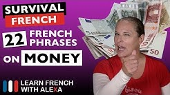 """22 French phrases about """"MONEY"""""""