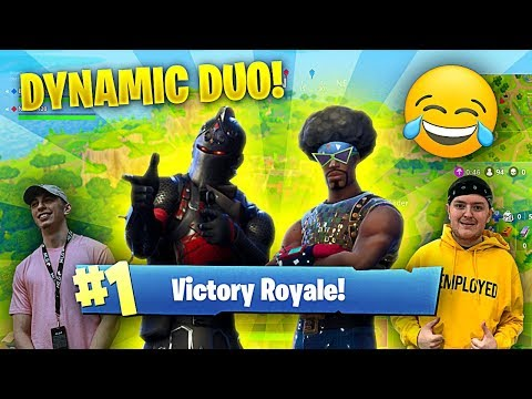 THE BEST FORTNITE DUO GOES OFF!! (Fortnite Battle Royale Funny Moments)