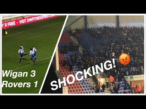 ABSOLUTE SHAMBLES!! Wigan Athletic 3-1 Blackburn Rovers