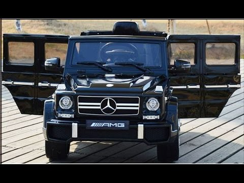 kinderauto der neue mercedes g63 von amg mit usb sd karten. Black Bedroom Furniture Sets. Home Design Ideas