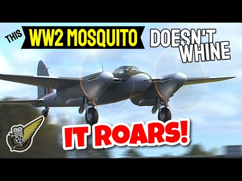 Low Level Mosquito FB.26 fly-bys