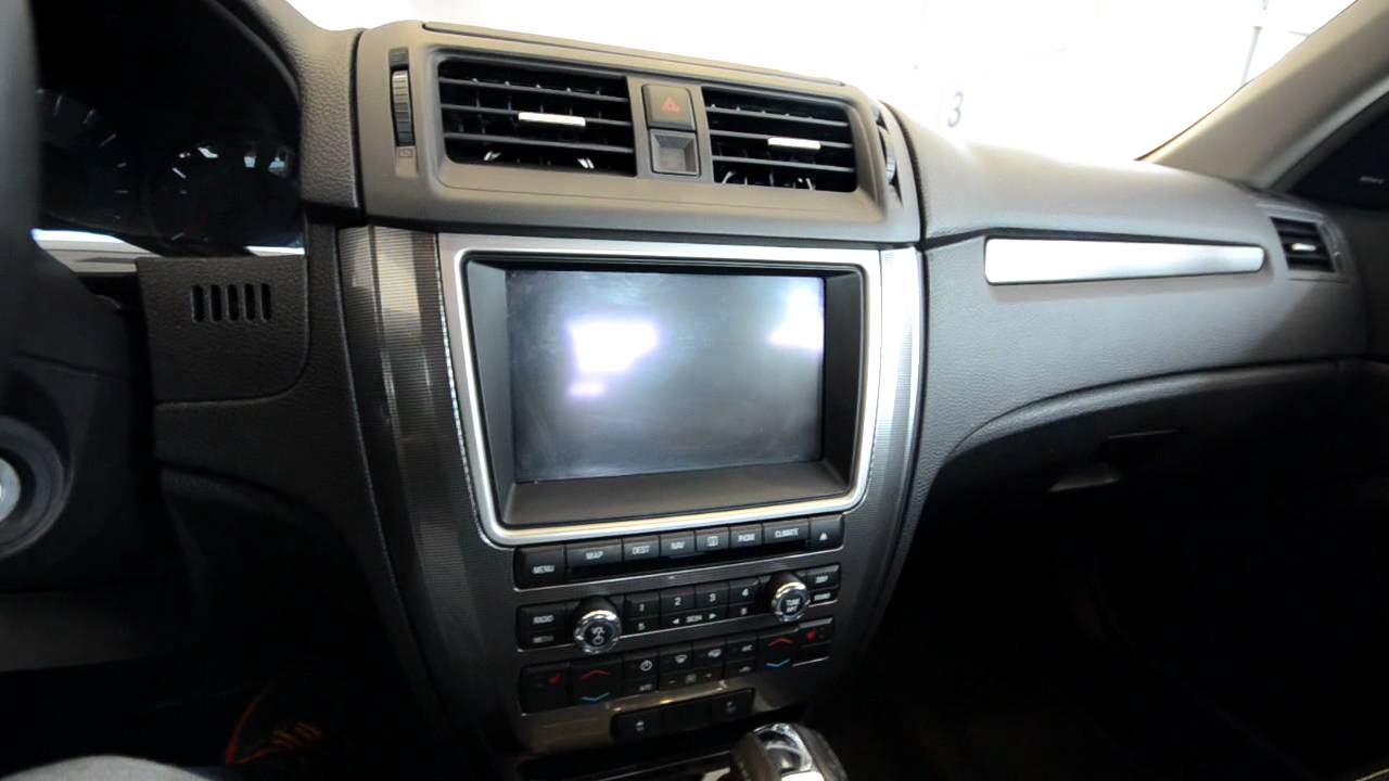 small resolution of 2010 ford fusion audio system