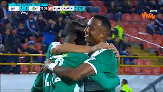 Millonarios vs. La Equidad (2-3) | Liga Aguila 2018-II | Fecha 13