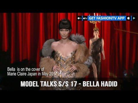 Models Fall/Winter 2017-18 Bella Hadid    FashionTV