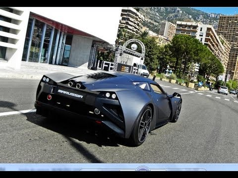Marussia B2 START-UP and Hard REVS - YouTube