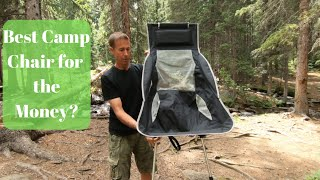 Best Camping Chair for the Money?   Marchway Chair Review