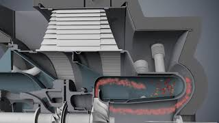 C200 Microturbine Engine Animation (Englisch)