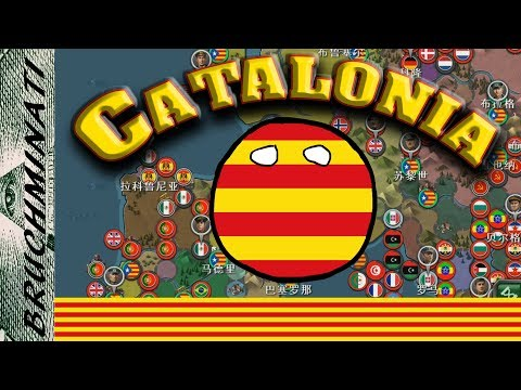 World Conqueror 3   1939-1984 Mod Catalonia #1; Referendum....We Dont Need No Referendum!