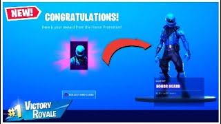 *UNLOCKING* The $700 Exclusive Honor Guard Skin in Fortnite..