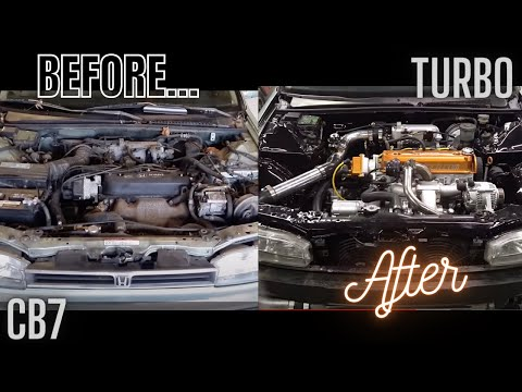 92 Honda Accord turbo project