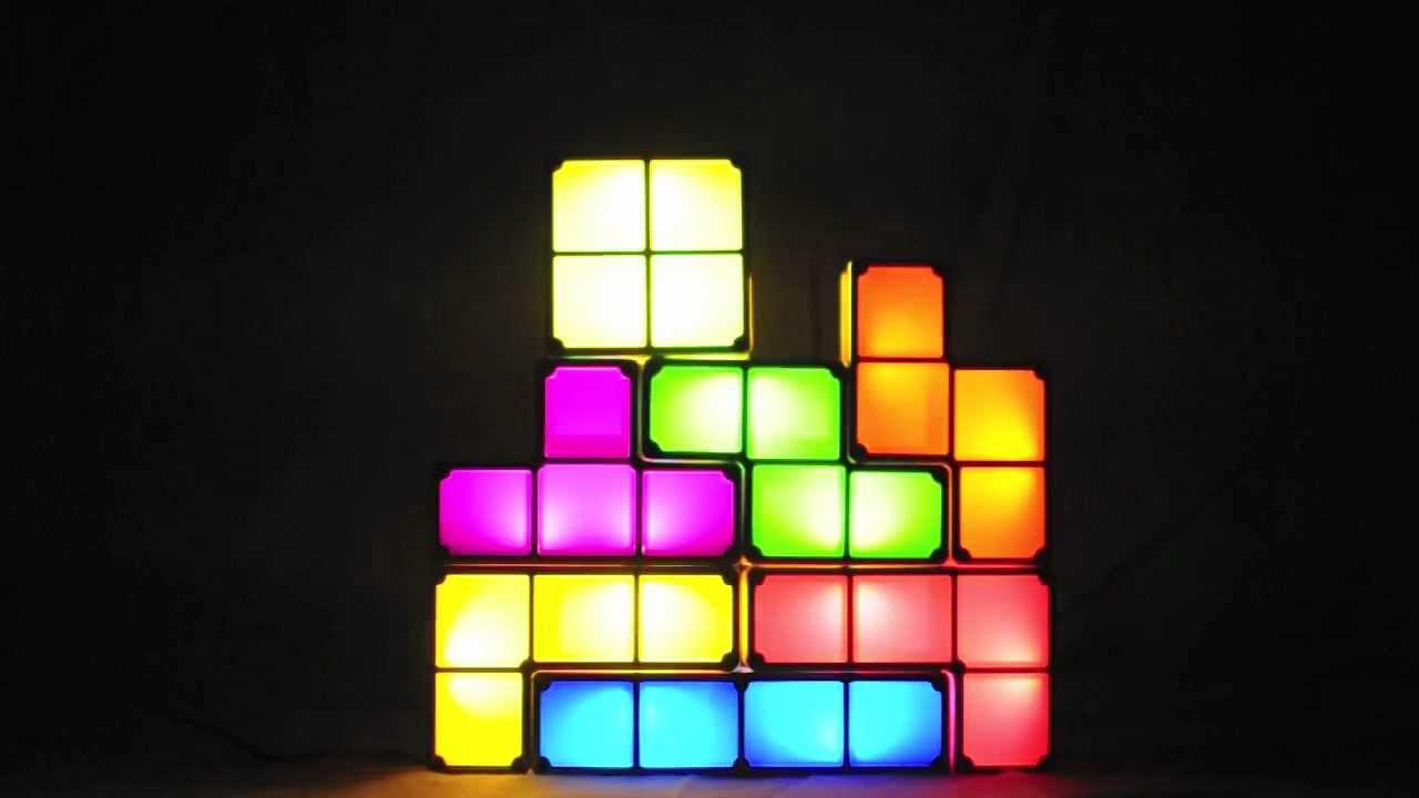 The Tetris Lamp   YouTube