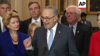 McConnell and Schumer reelected as Senate leaders