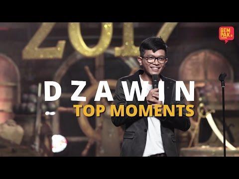 Maharaja Lawak Mega 2017 | Dzawin Top Moments