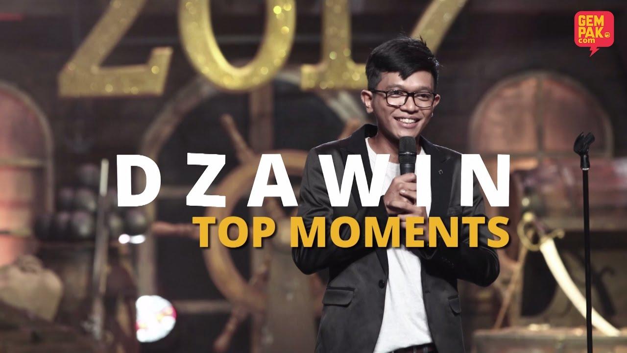 Maharaja Lawak Mega 2017 Dzawin Top Moments Youtube