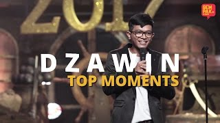 Maharaja Lawak Mega 2017 | Dzawin Top Moments