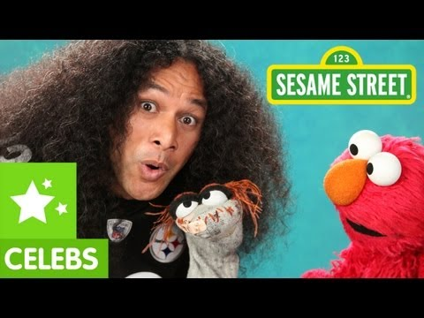 Sesame Street: Troy Polamalu talks Fragrance with Elmo