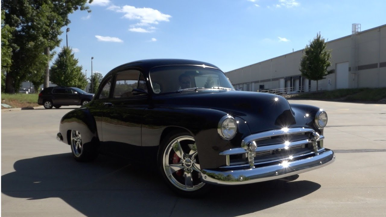 1951 Chevy Deluxe Coupe Grand Touring Wiring Diagrams 1942 136042 1950 Chevrolet Styleline Youtube Rh Com 1941 Business 1953