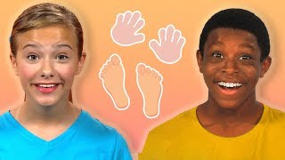 Jump, Stomp, Clap and Count | HEALTHY HABITS | Mother Goose Club Playhouse Kids Video