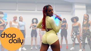 Capella Grey - Gyalis (Twerk Dance Class)   @Unique Hope TV  Choreography   Chop Daily
