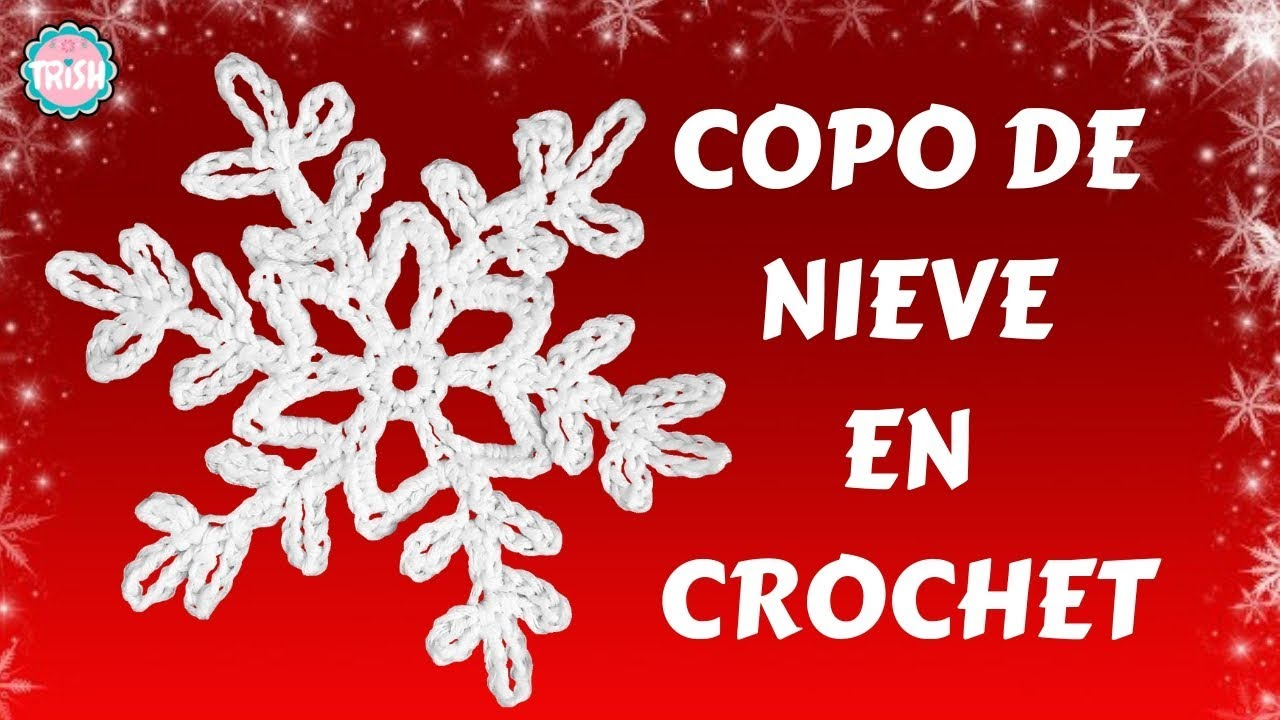 ❄️COPITO DE NIEVE EN CROCHET❄ CROCHET❄ ❄ - YouTube