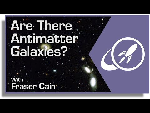 Are There Antimatter Galaxies?