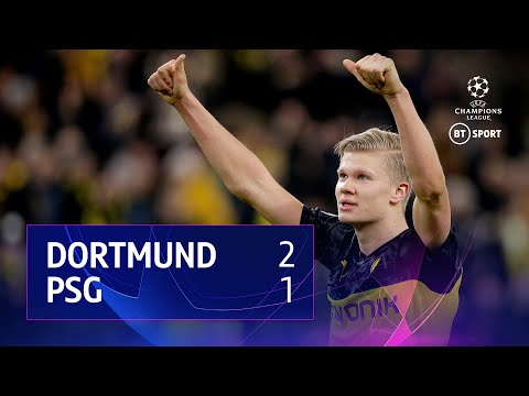 Borussia Dortmund vs PSG (2-1) | UEFA Champions League Highlights