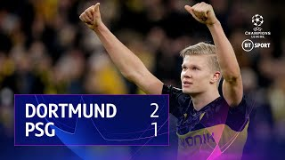 Borussia Dortmund vs PSG (2-1) | UEFA Champions League Highlights