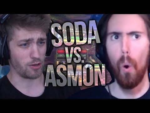 Sodapoppin vs. Asmongold! 1v1 PvP