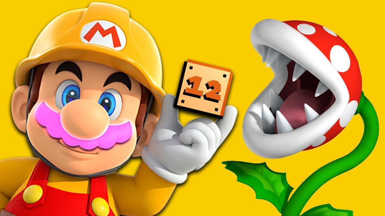 RAGE BUILDING | Mario Maker #12