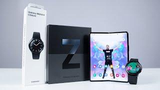 Samsung Galaxy Z Fold 3 & Watch 4 Classic UNBOXING