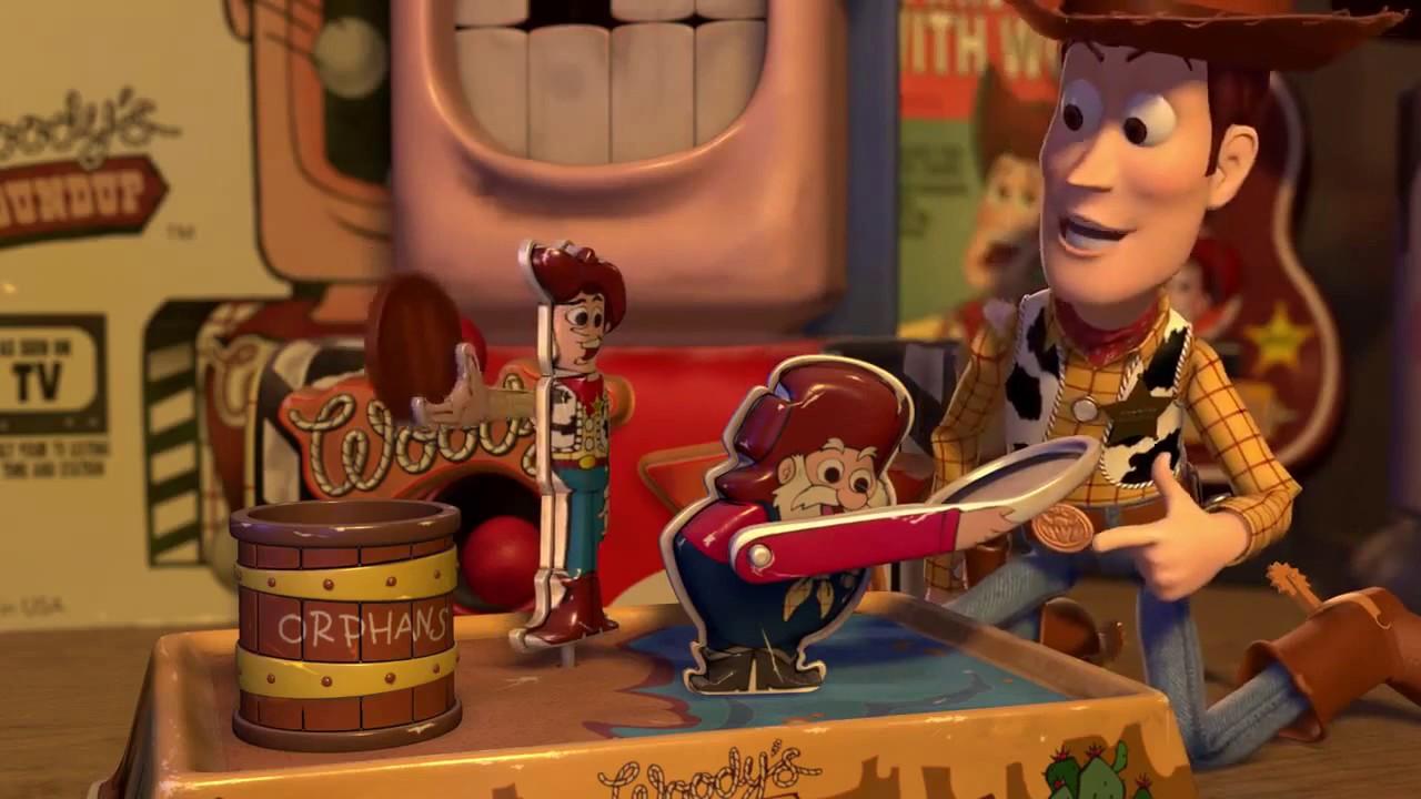 Toy Story 2 Woodys Roundup Merchandise - YouTube