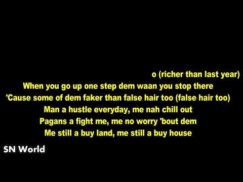 Popcaan - New Money  (Lyric)