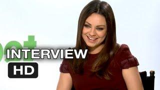 Ted Interview - Mila Kunis #2 - Seth MacFarlane Movie HD