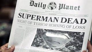 The Death of Superman (1/3) | Batman v Superman (4k, HDR)